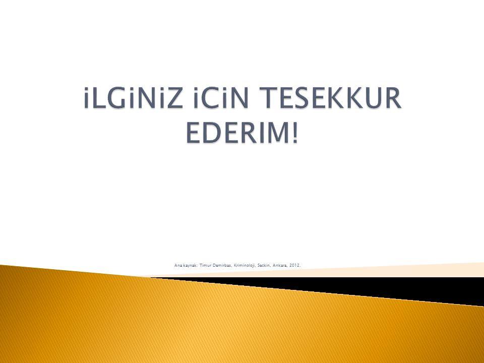 iLGiNiZ iCiN TESEKKUR EDERIM!
