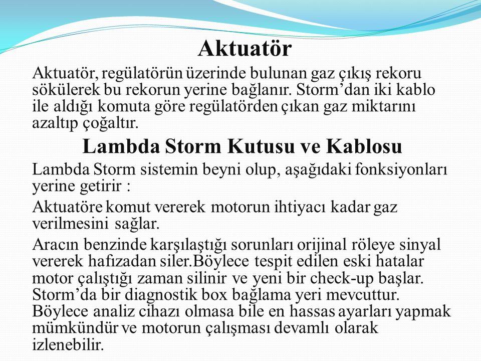 Lambda Storm Kutusu ve Kablosu