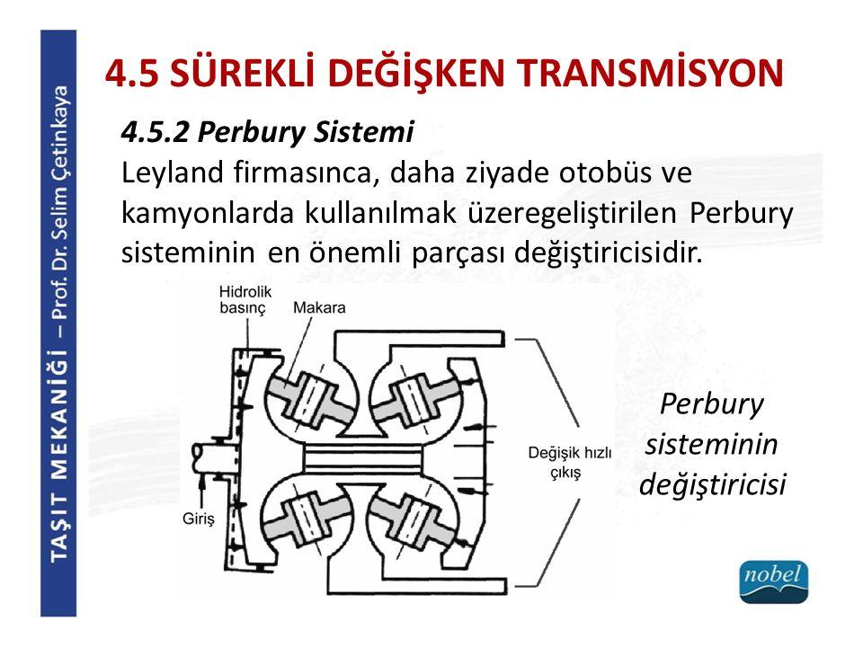Perbury sisteminin değiştiricisi