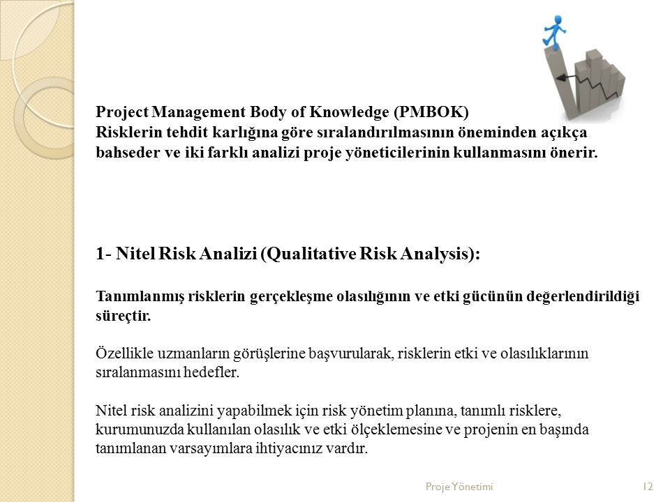 1- Nitel Risk Analizi (Qualitative Risk Analysis):