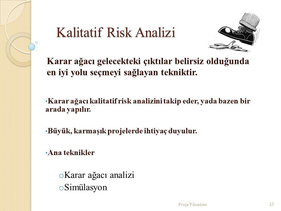Kalitatif Risk Analizi