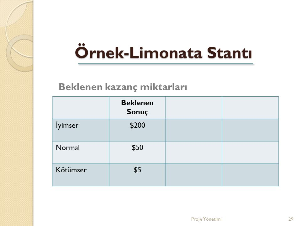 Örnek-Limonata Stantı