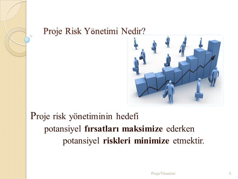 Proje Risk Yönetimi Nedir