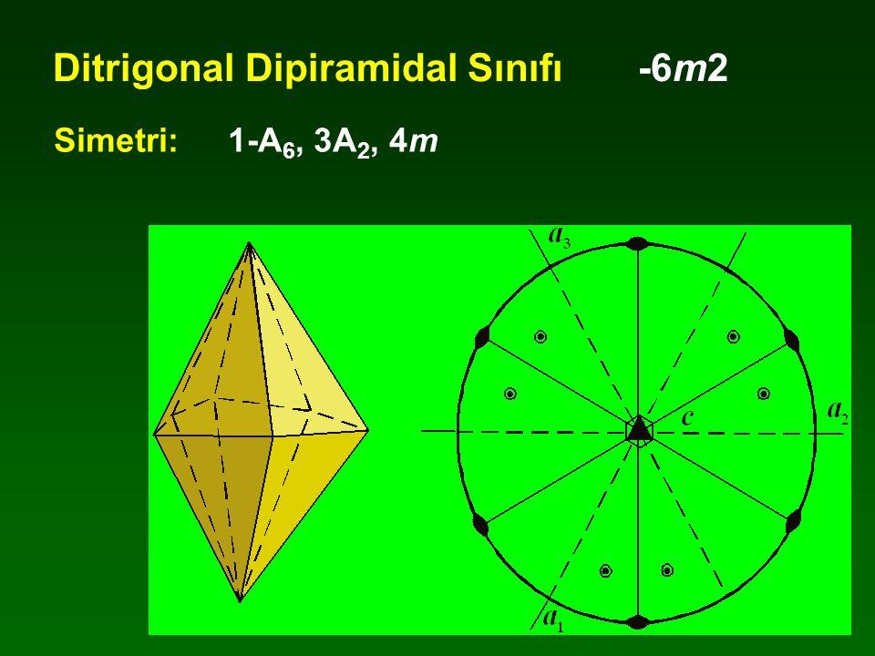 Ditrigonal Dipiramidal Sınıfı -6m2