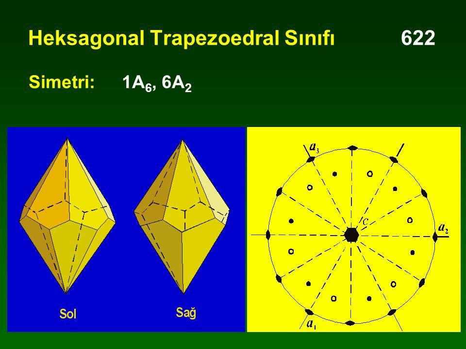 Heksagonal Trapezoedral Sınıfı 622