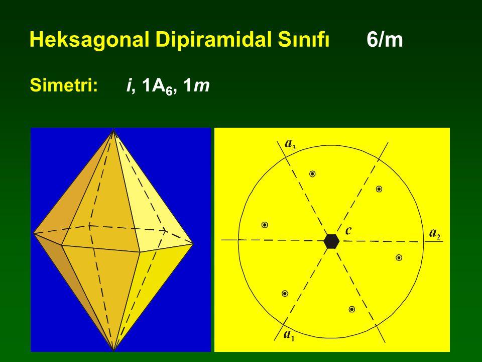 Heksagonal Dipiramidal Sınıfı 6/m