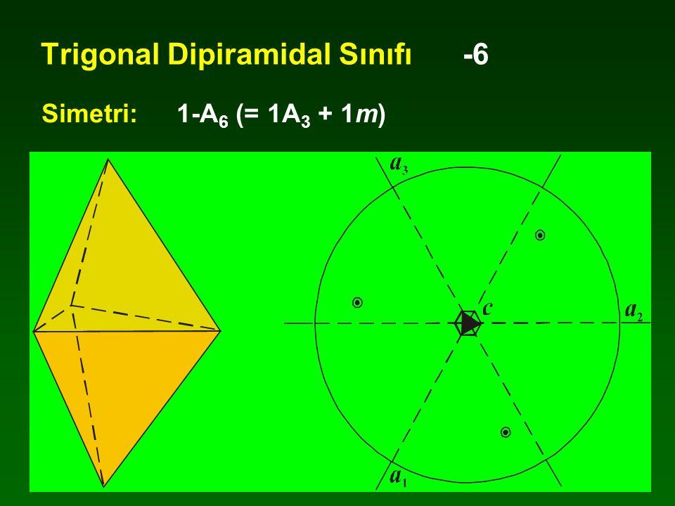Trigonal Dipiramidal Sınıfı -6