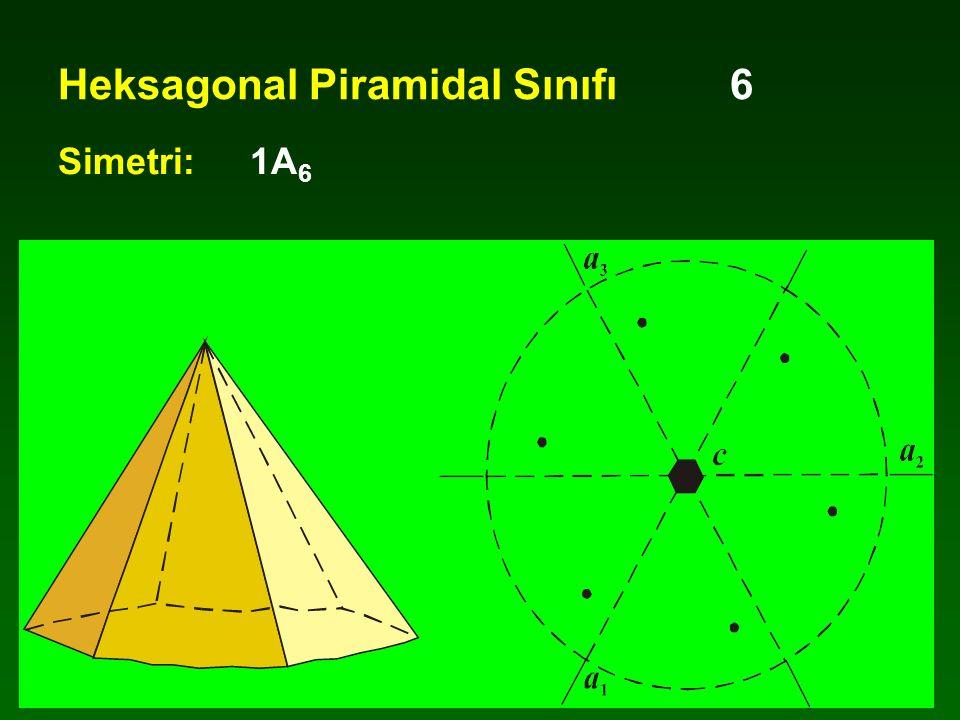 Heksagonal Piramidal Sınıfı 6
