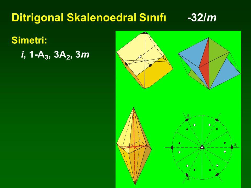 Ditrigonal Skalenoedral Sınıfı -32/m