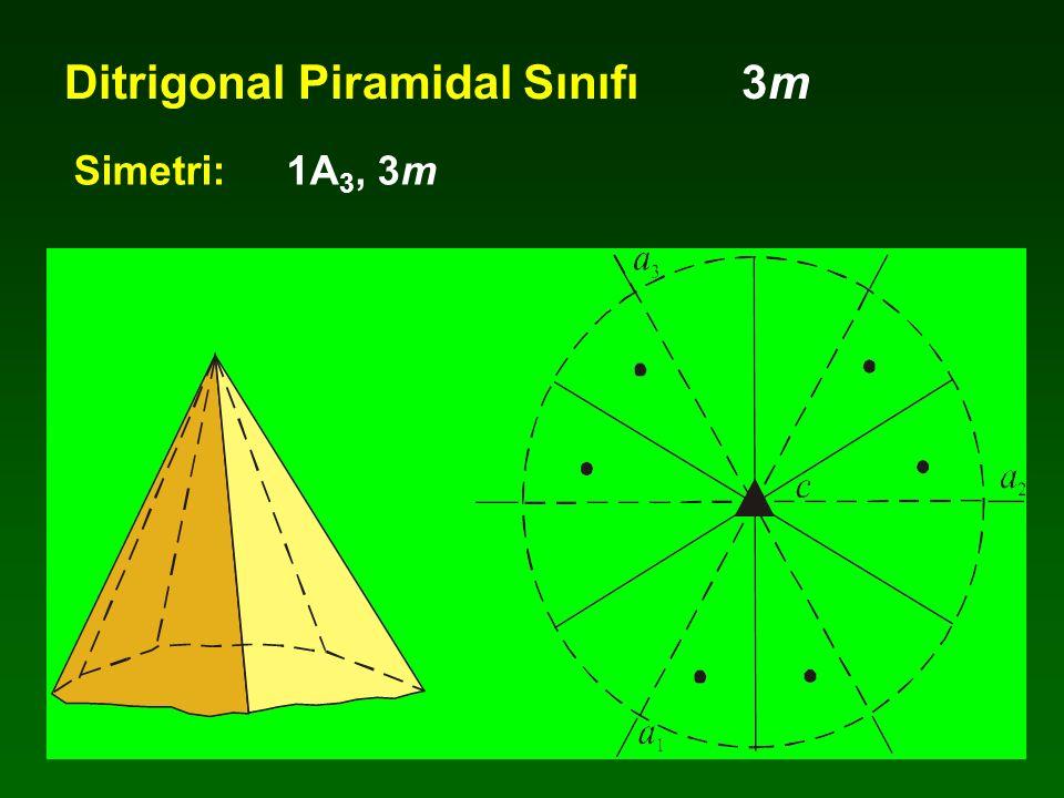 Ditrigonal Piramidal Sınıfı 3m