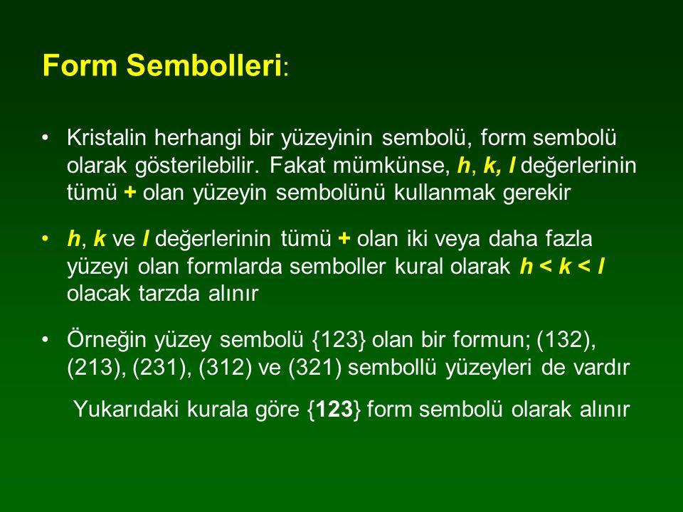Form Sembolleri: