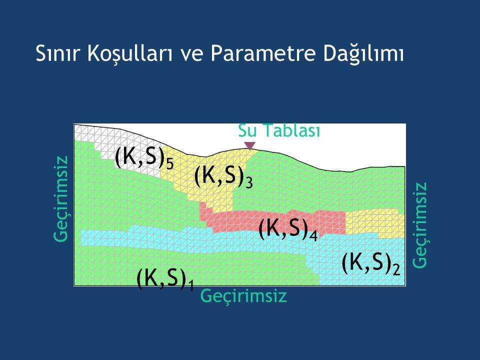 Sınır Koşulları ve Parametre Dağılımı