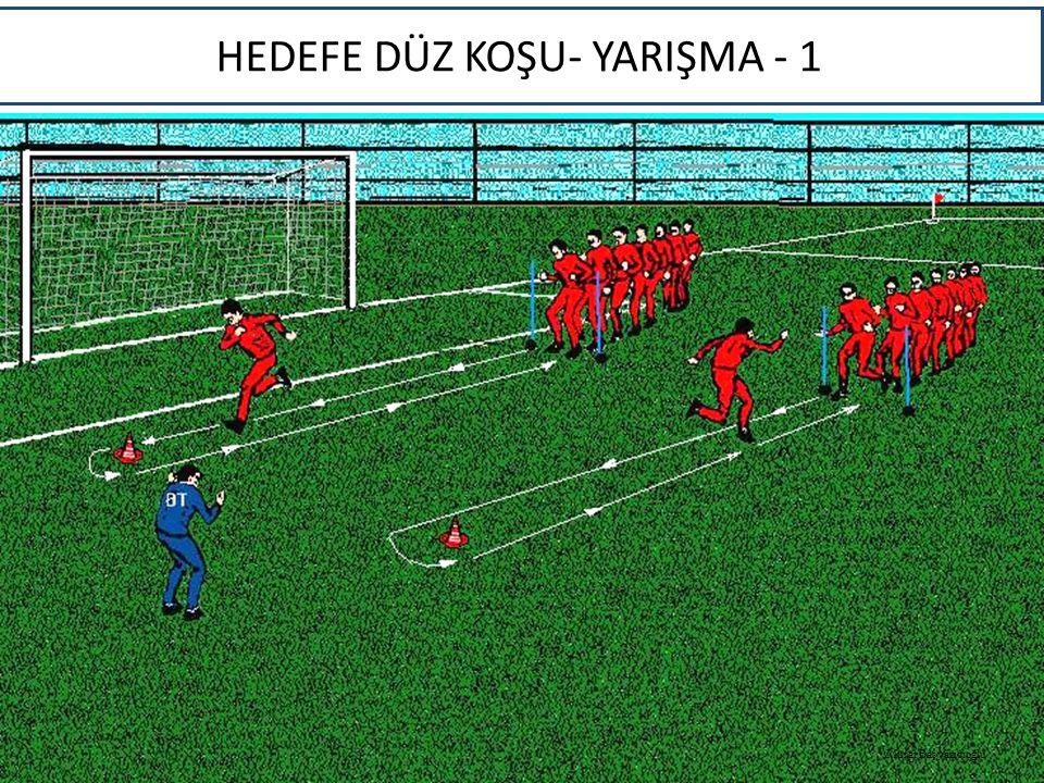 HEDEFE DÜZ KOŞU- YARIŞMA - 1