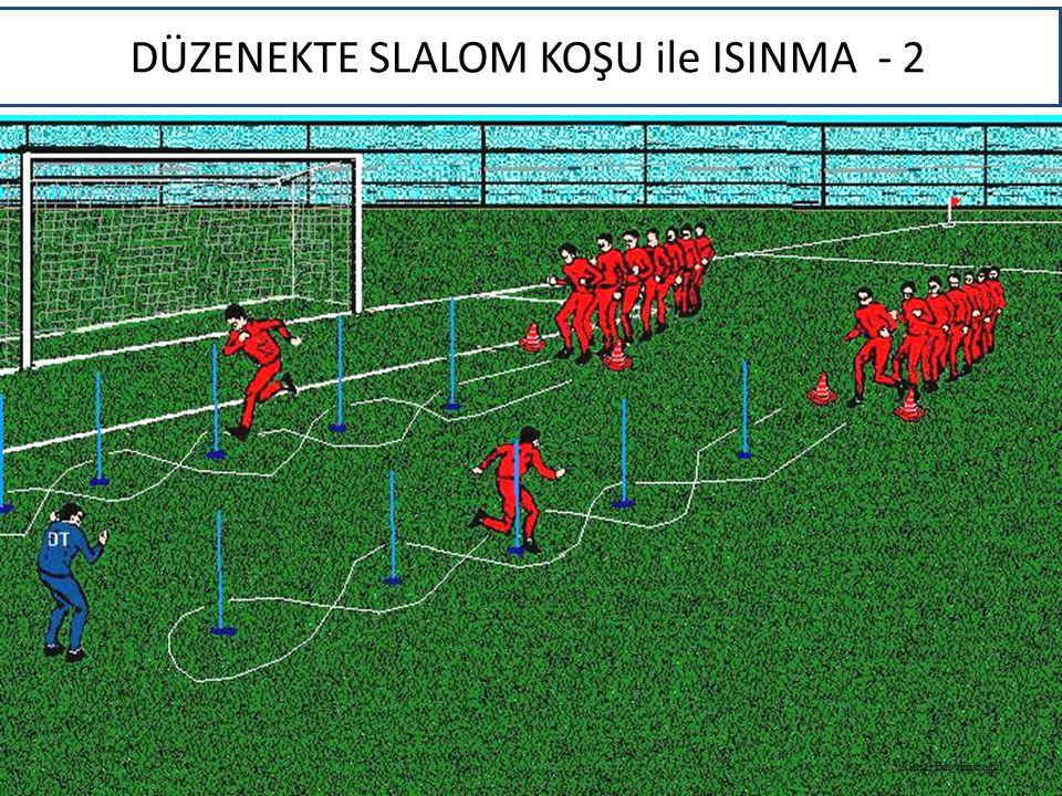 DÜZENEKTE SLALOM KOŞU ile ISINMA - 2