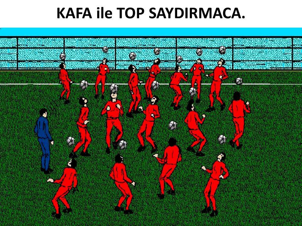 KAFA ile TOP SAYDIRMACA.