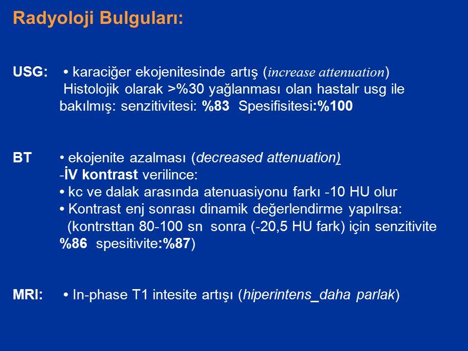 Radyoloji Bulguları: