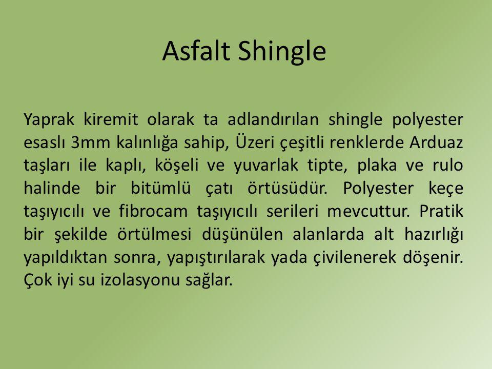Asfalt Shingle