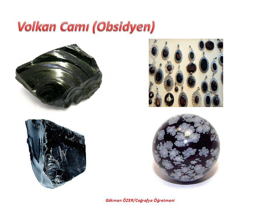 Volkan Camı (Obsidyen)