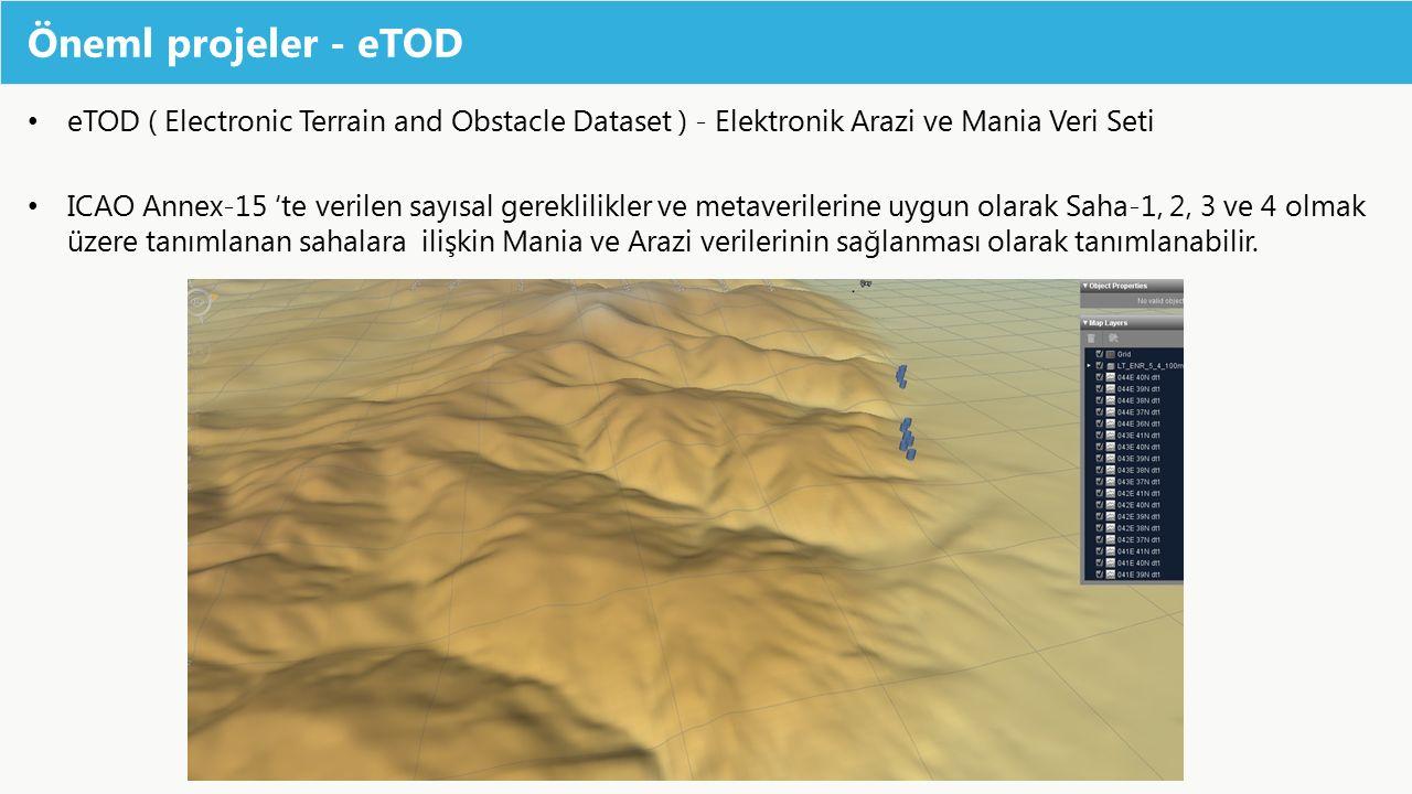 Öneml projeler - eTOD eTOD ( Electronic Terrain and Obstacle Dataset ) - Elektronik Arazi ve Mania Veri Seti.