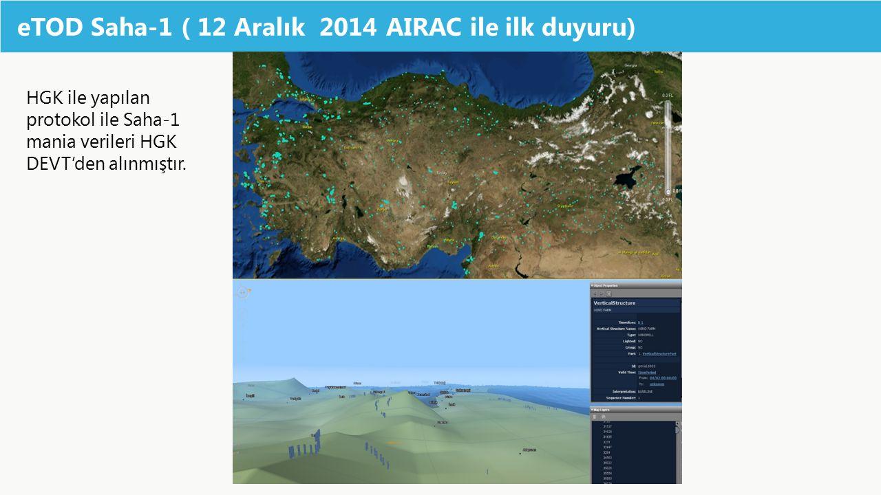eTOD Saha-1 ( 12 Aralık 2014 AIRAC ile ilk duyuru)