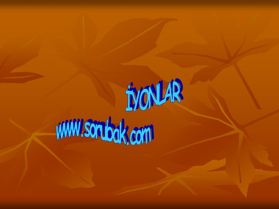 İYONLAR www.sorubak.com