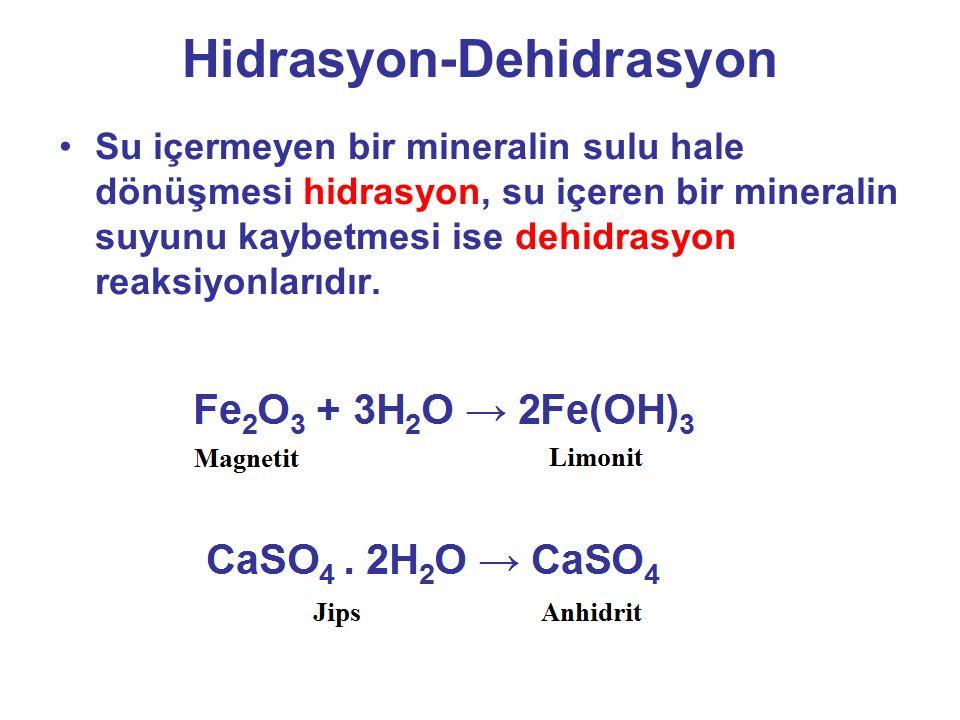 Hidrasyon-Dehidrasyon
