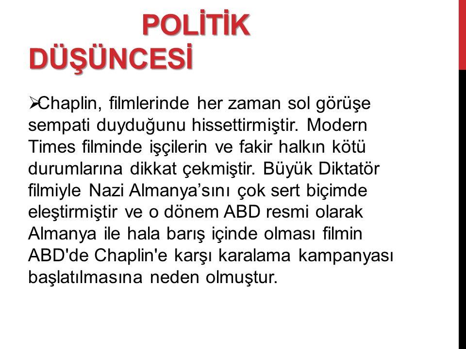 POLİTİK DÜŞÜNCESİ