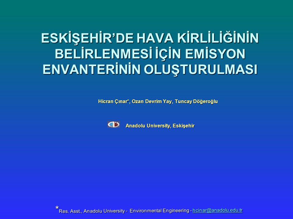 Hicran Çınar*, Ozan Devrim Yay, Tuncay Döğeroğlu