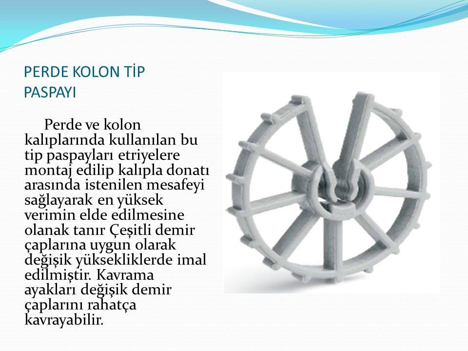 PERDE KOLON TİP PASPAYI