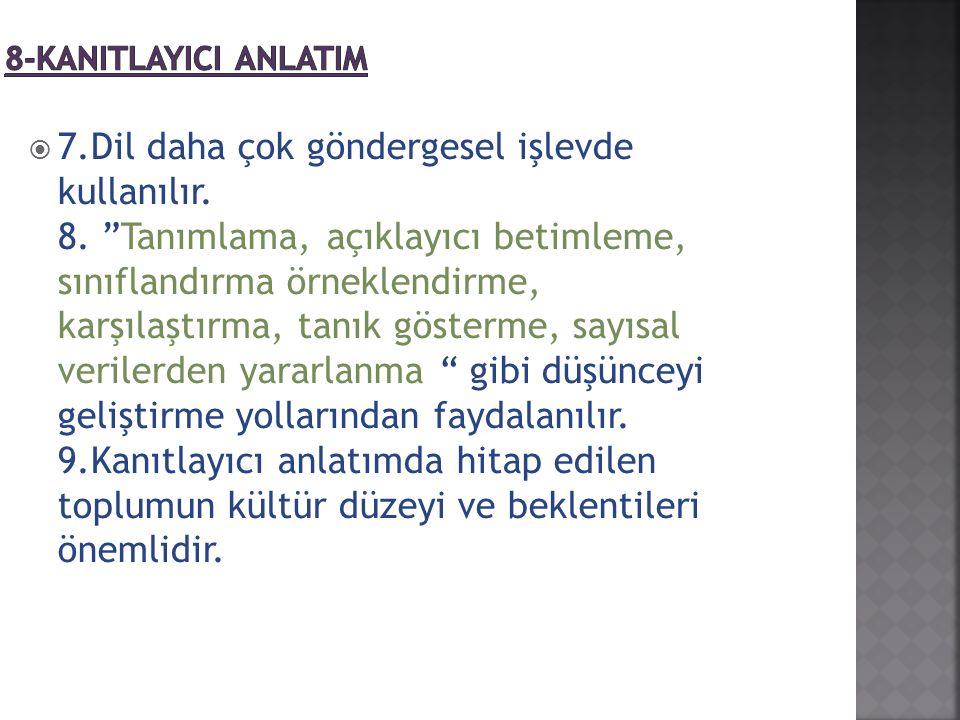 8-KANITLAYICI ANLATIM