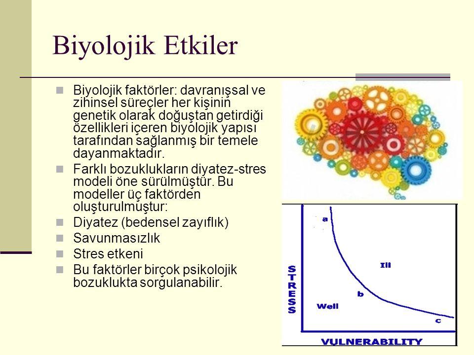 Biyolojik Etkiler