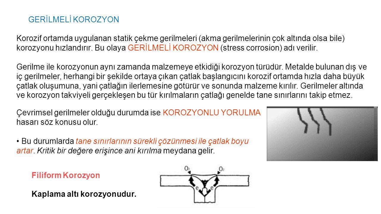 GERİLMELİ KOROZYON