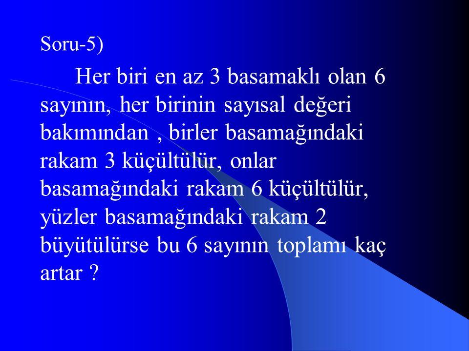 Soru-5)
