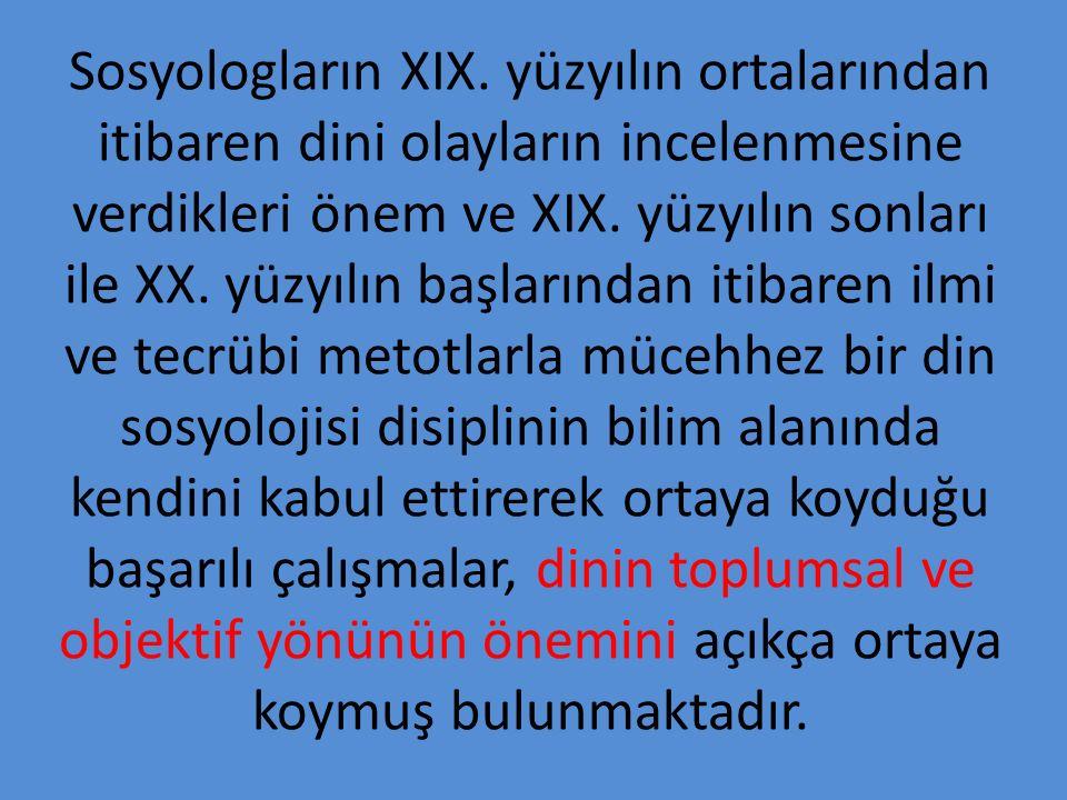 Sosyologların XIX.