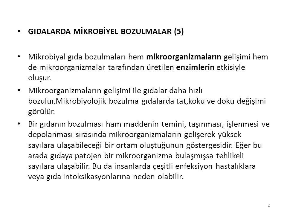 GIDALARDA MİKROBİYEL BOZULMALAR (5)