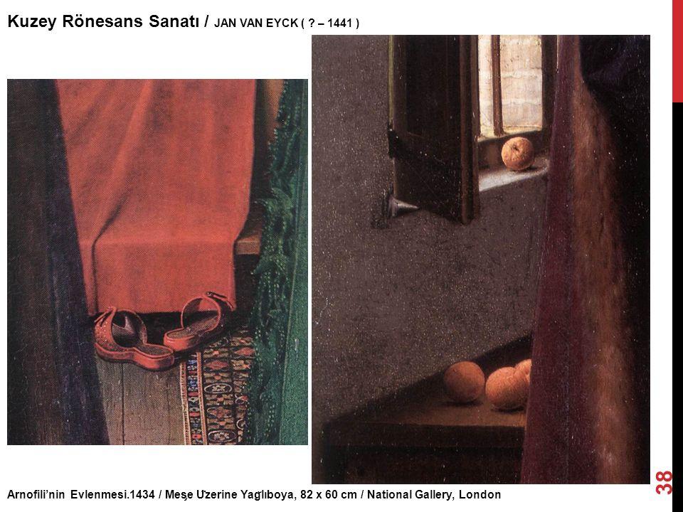 Kuzey Rönesans Sanatı / JAN VAN EYCK ( – 1441 )