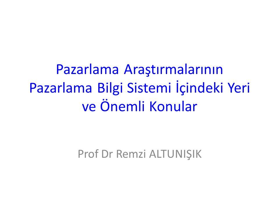 Prof Dr Remzi ALTUNIŞIK