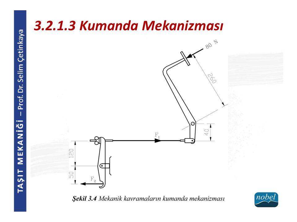 3.2.1.3 Kumanda Mekanizması