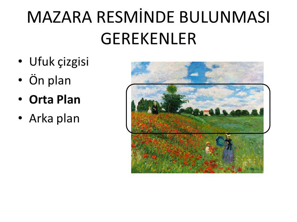 MAZARA RESMİNDE BULUNMASI GEREKENLER