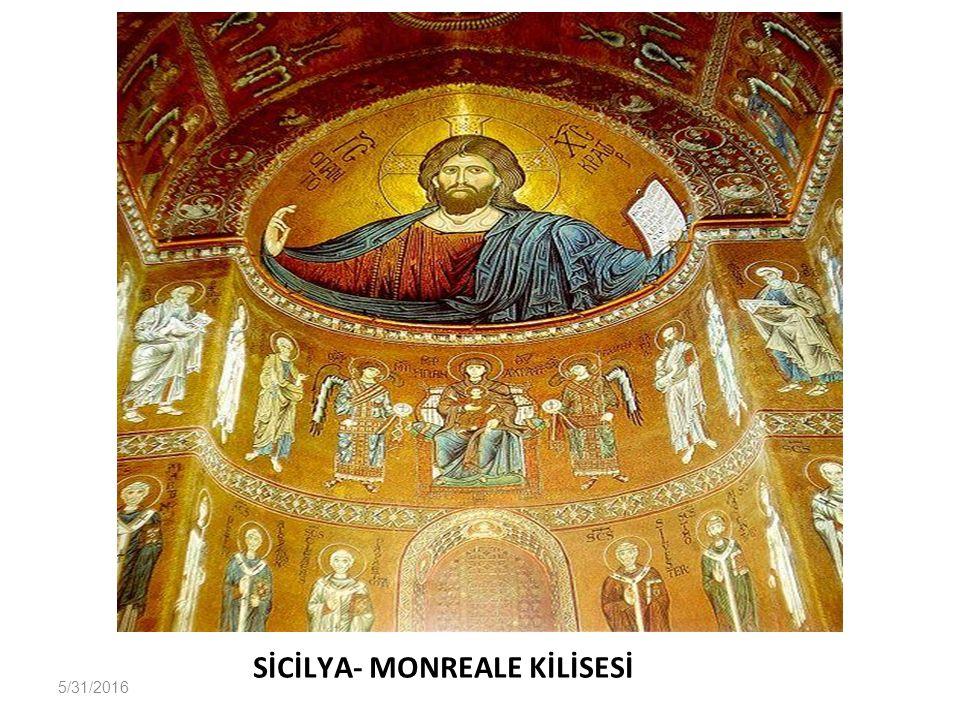 SİCİLYA- MONREALE KİLİSESİ