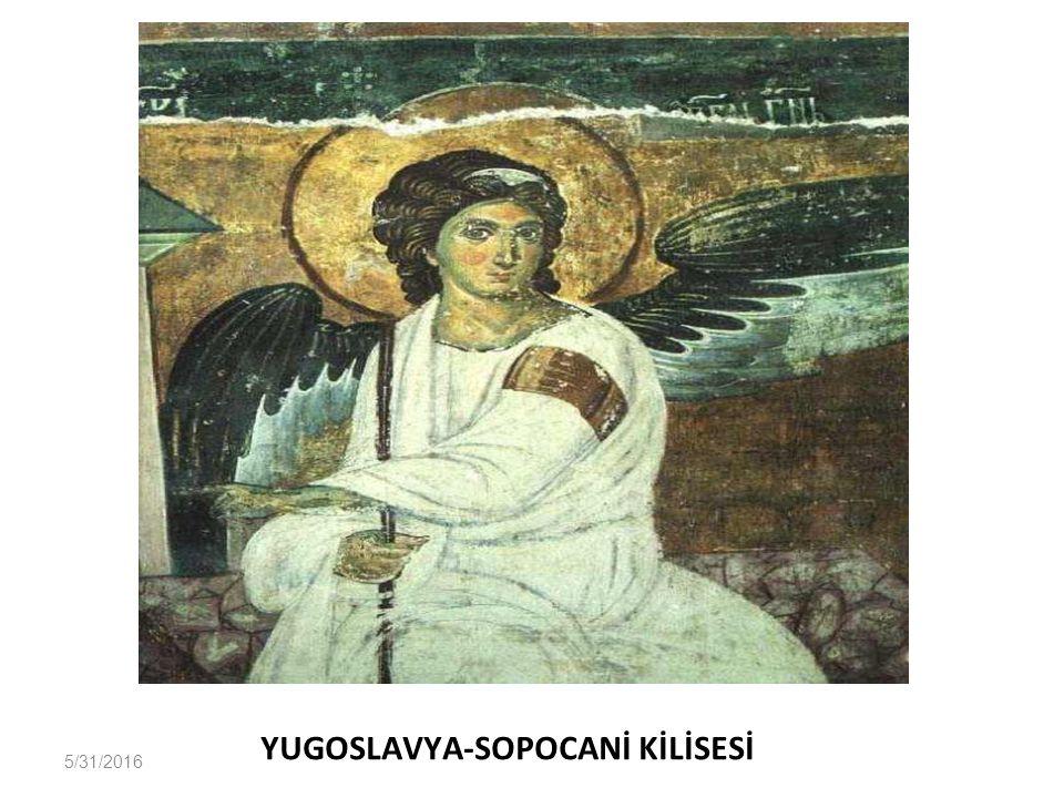 YUGOSLAVYA-SOPOCANİ KİLİSESİ