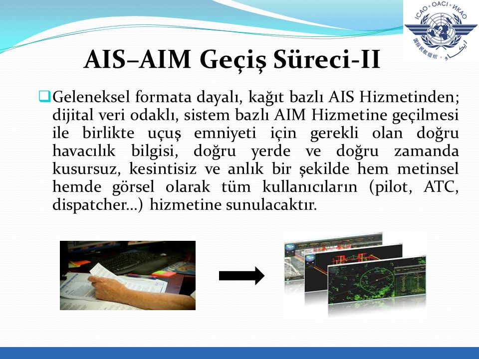 AIS–AIM Geçiş Süreci-II