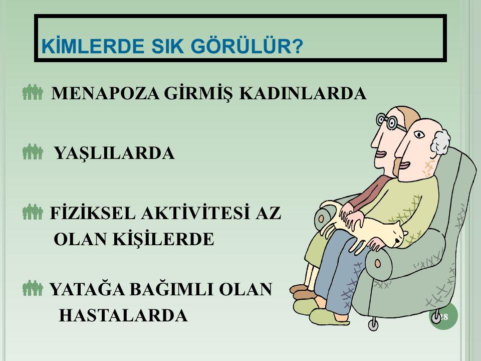 MENAPOZA GİRMİŞ KADINLARDA