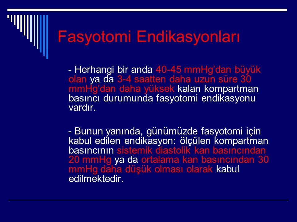 Fasyotomi Endikasyonları