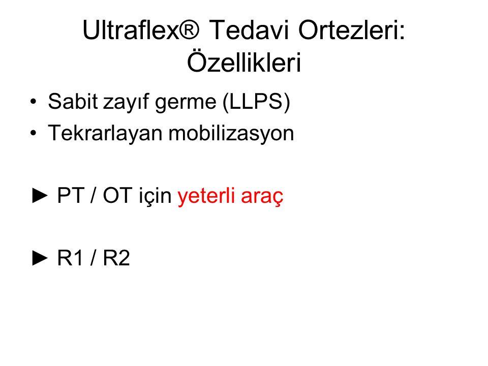 Ultraflex® Tedavi Ortezleri: Özellikleri