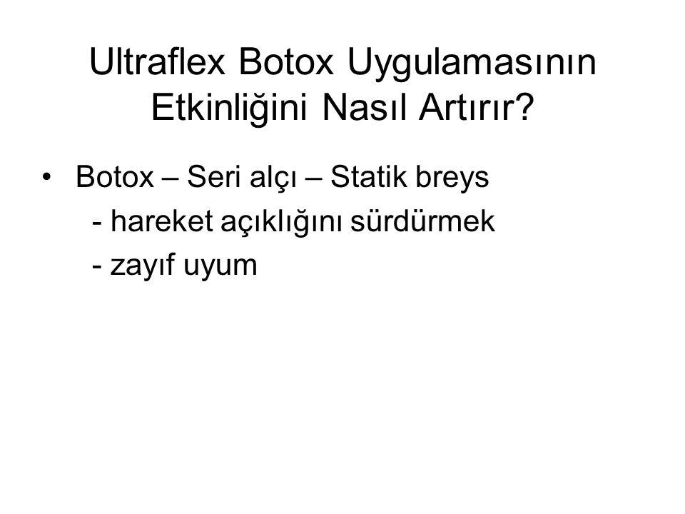 Ultraflex Botox Uygulamasının Etkinliğini Nasıl Artırır