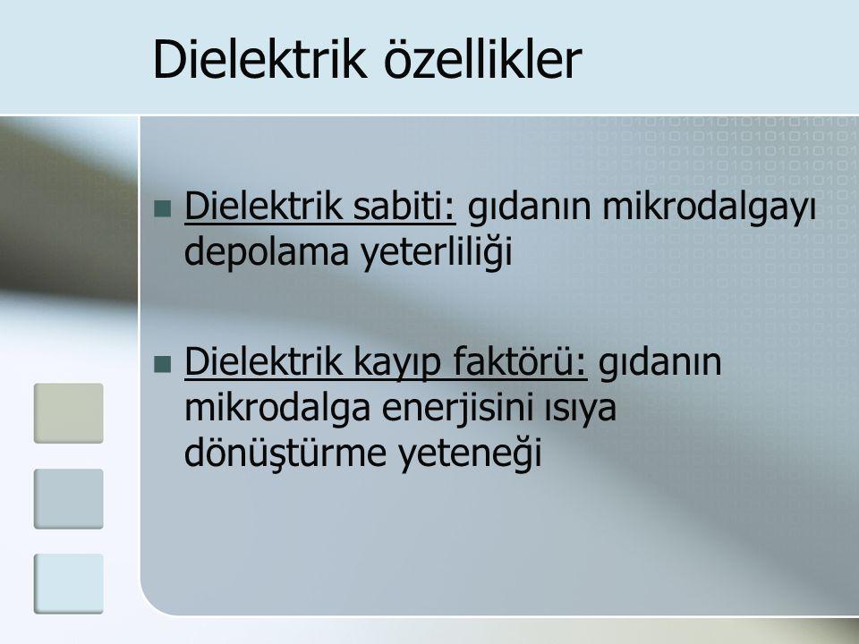 Dielektrik özellikler