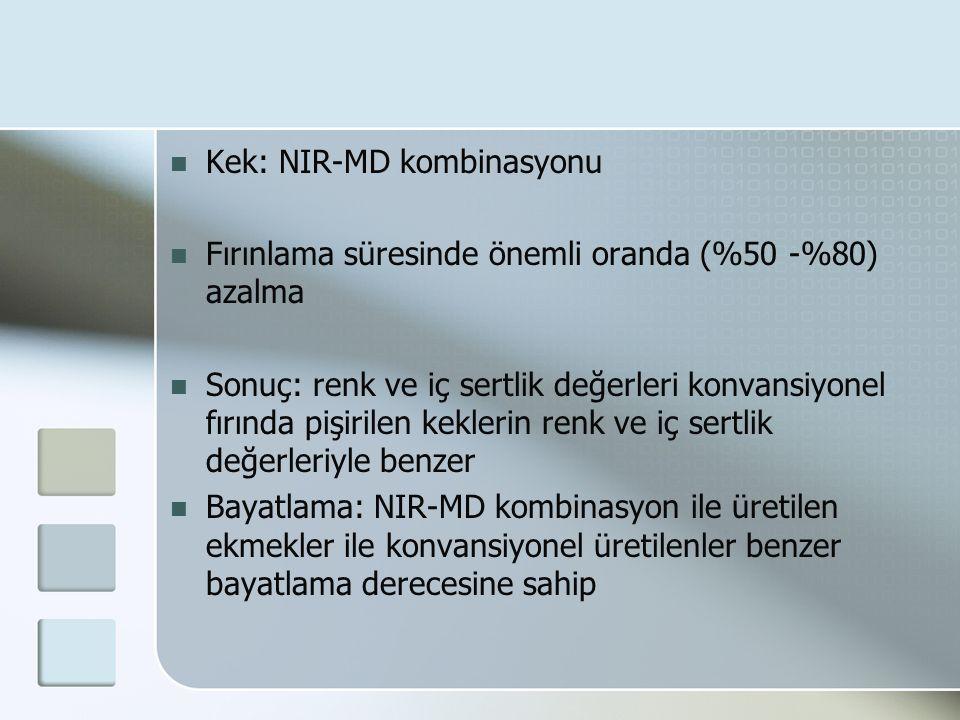 Kek: NIR-MD kombinasyonu