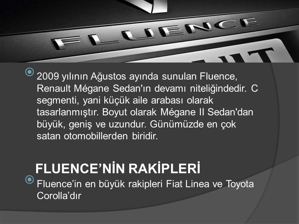 FLUENCE'NİN RAKİPLERİ