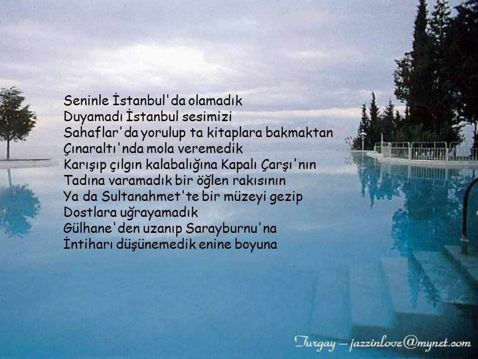 Seninle İstanbul da olamadık